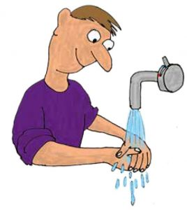 Hvorfor-vasker-vi-hænder-med-vand-og-sæbe. Scienceforsøg om vand til børn - børn og science
